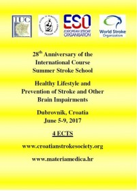 28th SUMMER STROKE SCHOOL HEALTHY LIFESTYLE AND PREVENTION OF STROKE  AND OTHER BRAIN IMPAIRMENTS